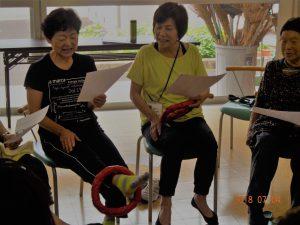 屋代住宅区で住民活動『ちょいトレ』が開催されました。