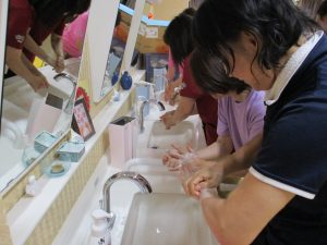 手洗い講習