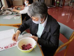 手作りおやつ <桜餅>